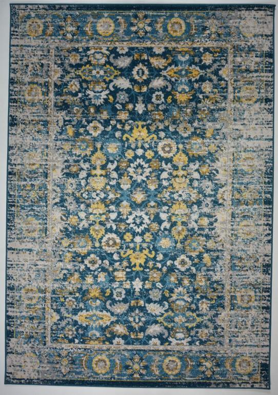 Dywan FLORES N485C BLUE