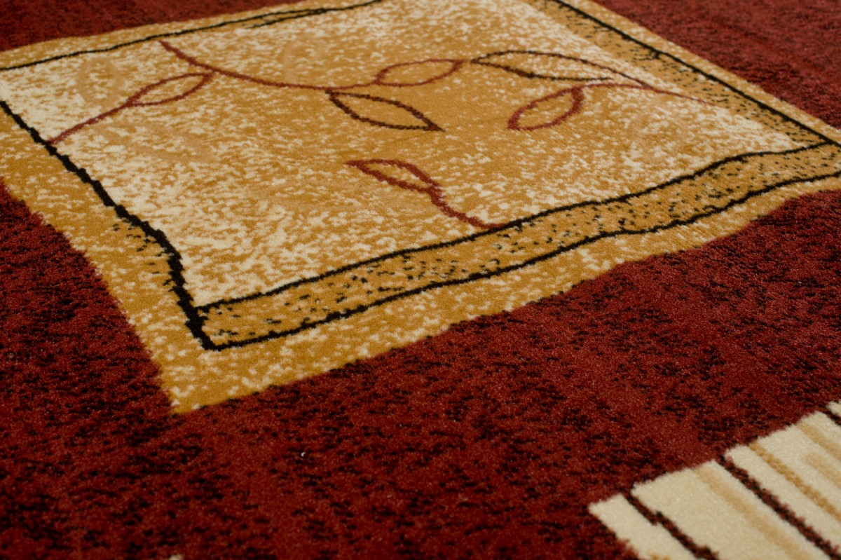 tapiso atlas teppich kurzflor designer teppich in braun beige kaffee dunkelbraun mit modern. Black Bedroom Furniture Sets. Home Design Ideas
