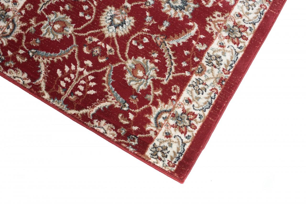 l ufer br cke flur teppich muster klassisch in rot. Black Bedroom Furniture Sets. Home Design Ideas