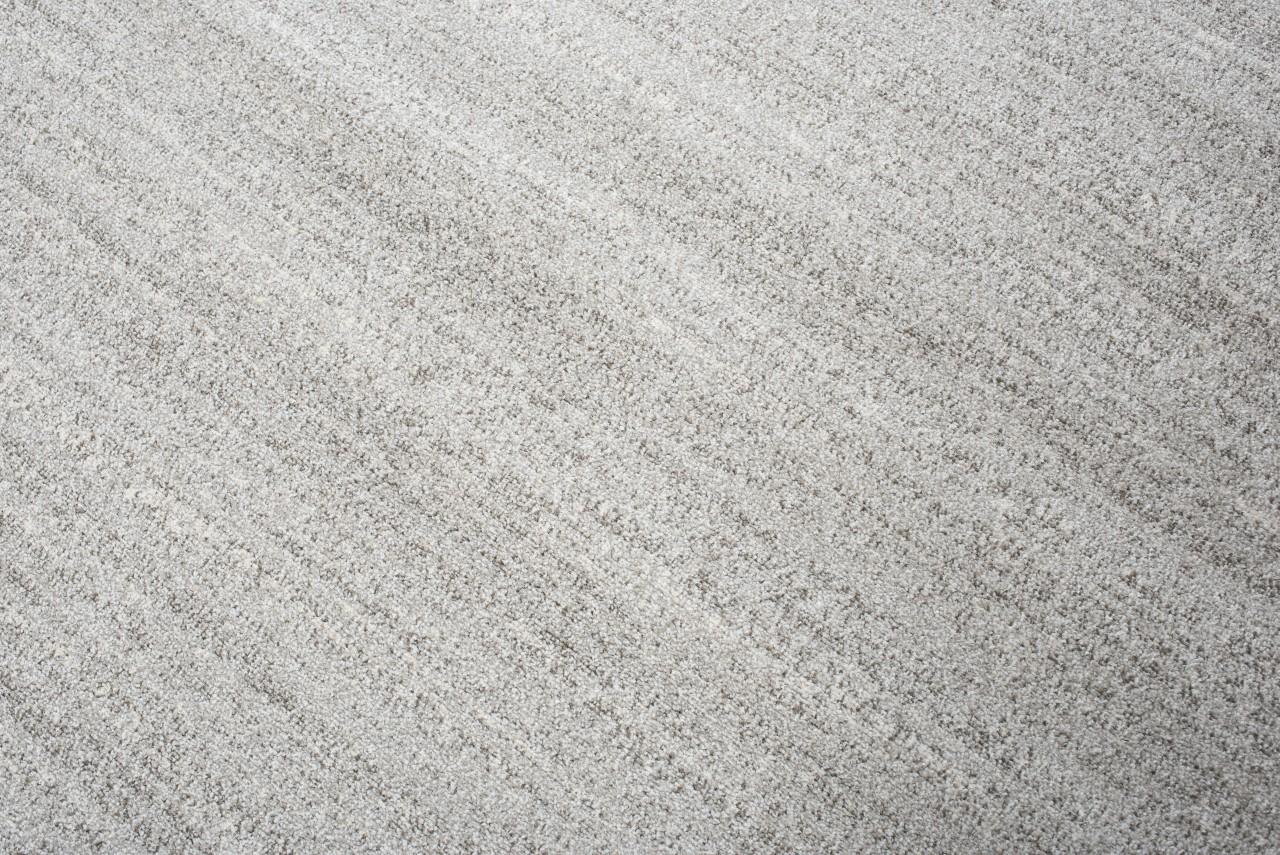 tapiso sari teppich kurzflor modern teppiche in grau meliert perfekt f r wohnzimmer g stezimmer. Black Bedroom Furniture Sets. Home Design Ideas