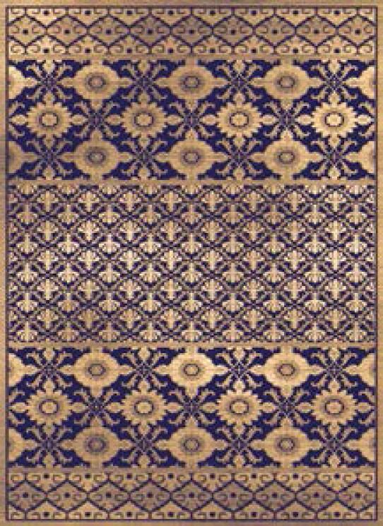 Dywan Bohemian 23123 Berber/ BLUE