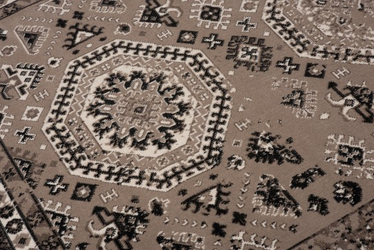 TAPISO VERSE Teppich Kurzflor Modern Vintage Orient Ornament ...