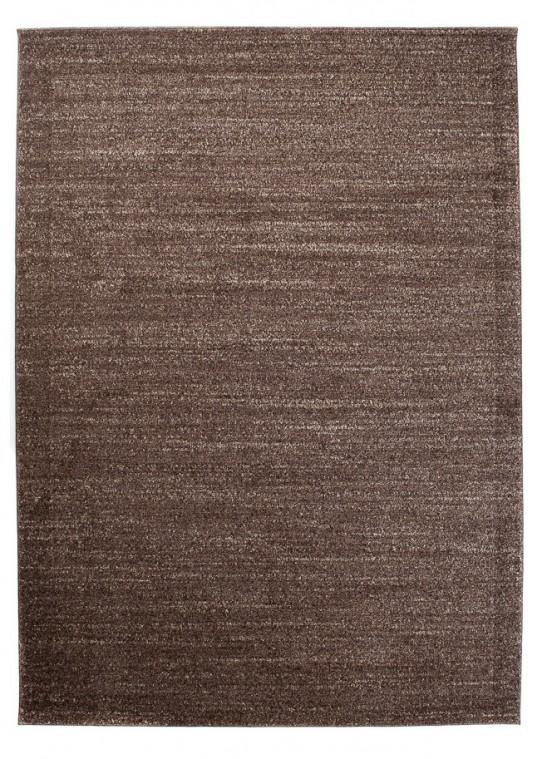 TAPISO SARI Teppich Kurzflor Modern Teppiche in Braun Meliert Perfekt für Wohnzimmer Gästezimmer Esszimmer ÖKOTEX