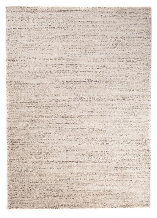 TAPISO SARI Teppich Kurzflor Modern Teppiche Beige Creme Meliert Perfekt für Wohnzimmer Gästezimmer Esszimmer ÖKOTEX