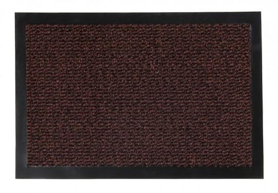 TAPISO Orkan Fußmatte Türmatte Strapazierfähig Innenbereich Außenbereich Türvorleger Schwarz Rot Rostbraun Rutschfest