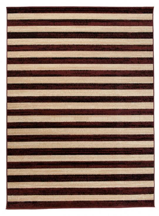 moderne wohnzimmer teppiche teppich in braun mit muster