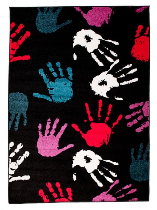 Dywan dziecięcy STELLA 78707 Black niebieski Rugito