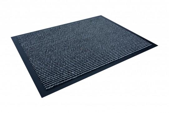 TAPISO Orkan Fußmatte Türmatte Strapazierfähig Innenbereich Außenbereich Türvorleger Schwarz Blau Grau Antirutsch Fußabtreter