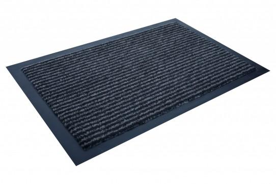 TAPISO Orkan Fußmatte Türmatte Strapazierfähig Innenbereich Außenbereich Türvorleger Schwarz Grau Anthrazit Antirutsch Fußabtreter