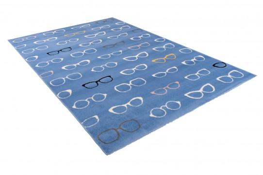 Dywan nowoczesny  33493/031 XENO niebieski