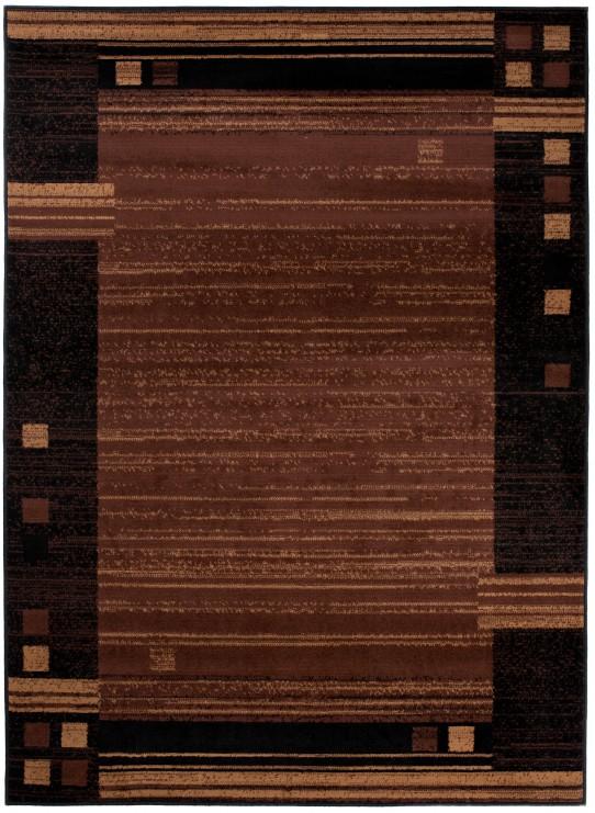 Dywan 3881 BLACK/ SCARLET BROWN